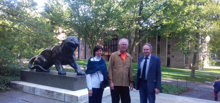 Meetings in New York and Princeton (USA)